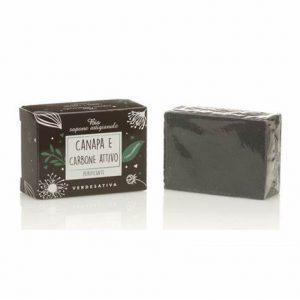verdesativa - Bio sapone Canapa e carbone Attivo