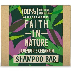 Faith in Nature - Shampoo solido - lavanda e geranio