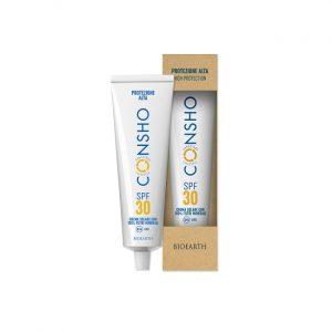 Bioearth - Crema solare SPF 30 con 100% filtri minerali